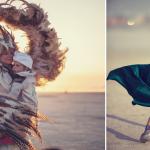 Conheça as mágicas fotos das crianças no Festival Burning Man 1