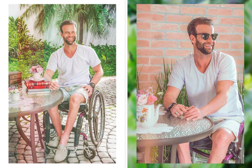 Projeto fotográfico valoriza inclusão em editorial de moda com deficientes físicos 1
