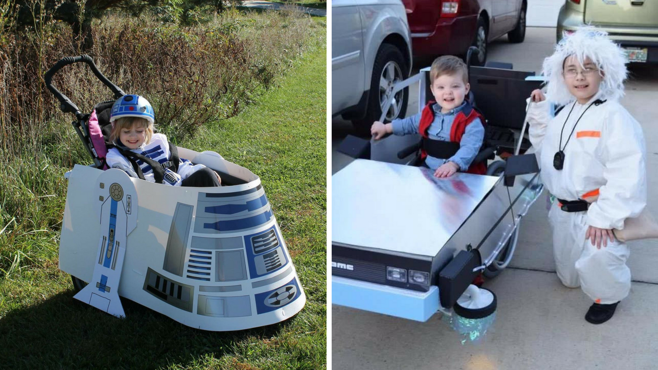 Pai começou customizando fantasia para filho cadeirante e agora tem ONG para atender mais crianças 5