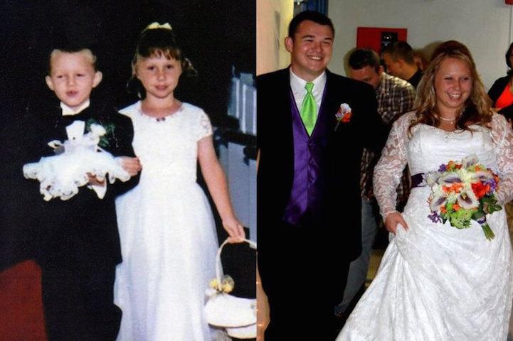 Ex-daminha e pajem de casamento se casam 17 anos depois 1