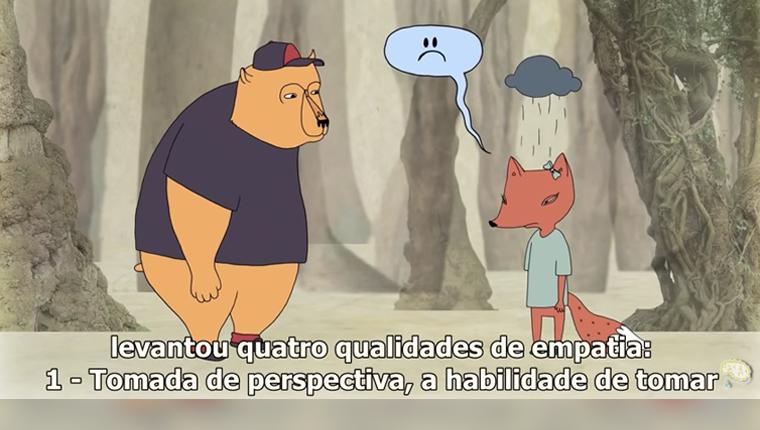 """Animação fofa ensina que empatia """"é sentir com as pessoas"""" 1"""
