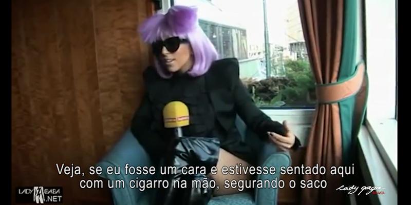 Lady Gaga lacra o machismo de jornalista em entrevista 1
