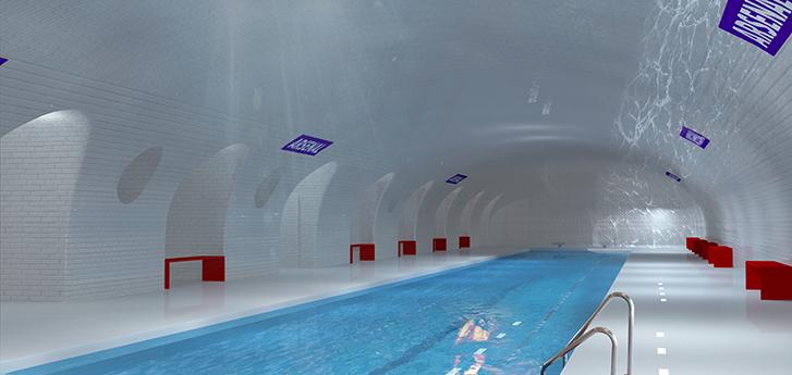Paris vai transformar estação de metrô abandonanda em piscina 1