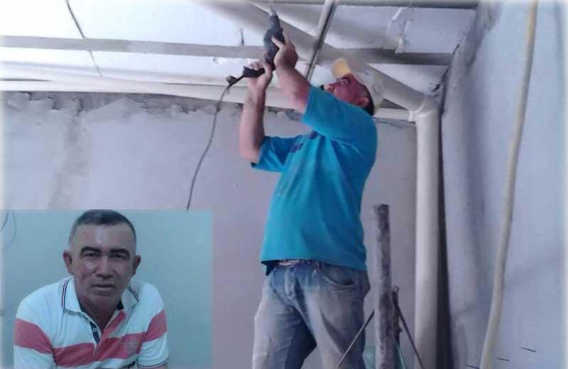 Vice-prefeito trabalha como pedreiro para complementar a renda em São Braz do Piauí 3