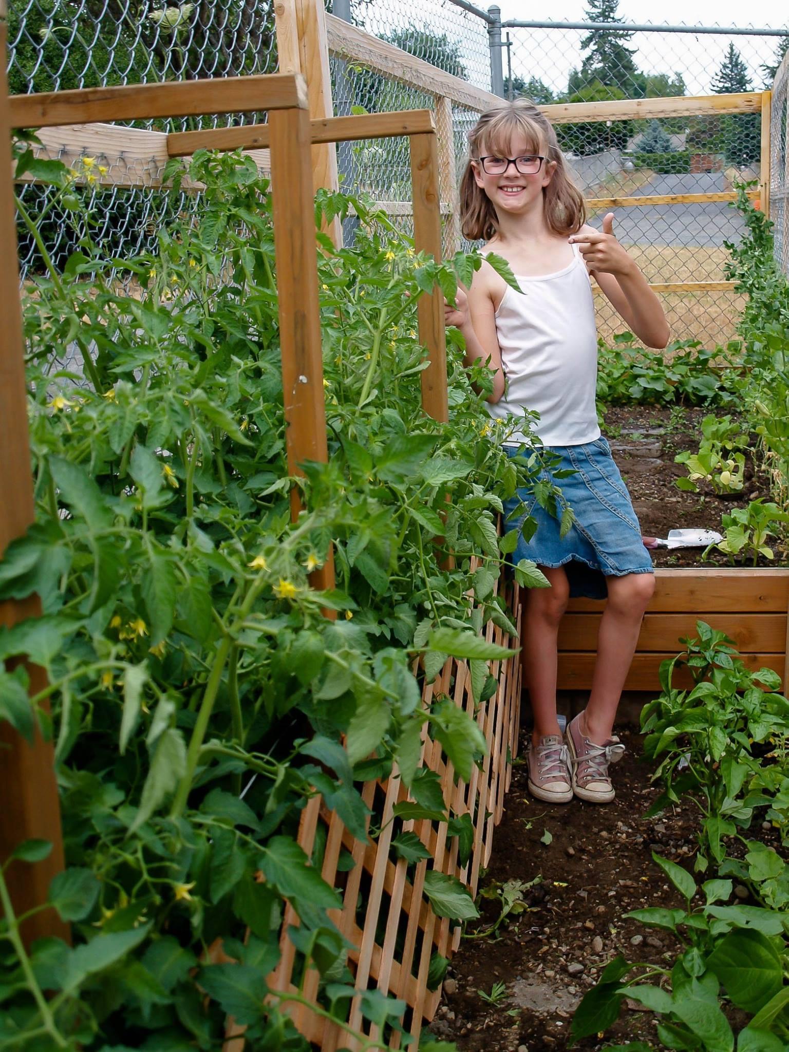 ela cultiva horta em casa 2