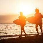 Médicos trocam remédios por aulas de surf