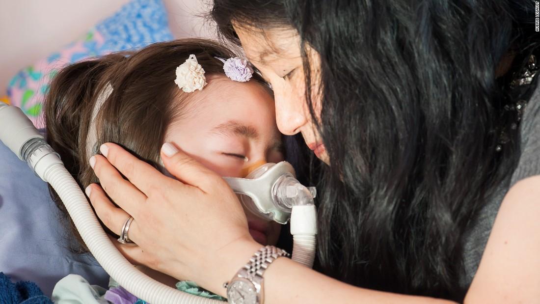 Em estado terminal, menina de 5 anos prefere ir para o céu em vez do hospital 6