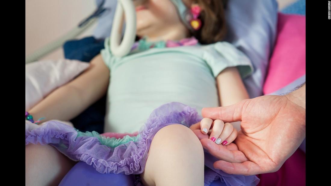 Em estado terminal, menina de 5 anos prefere ir para o céu em vez do hospital 9