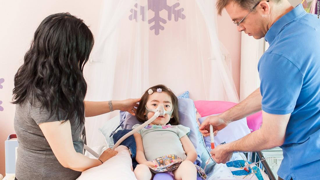 Em estado terminal, menina de 5 anos prefere ir para o céu em vez do hospital 11