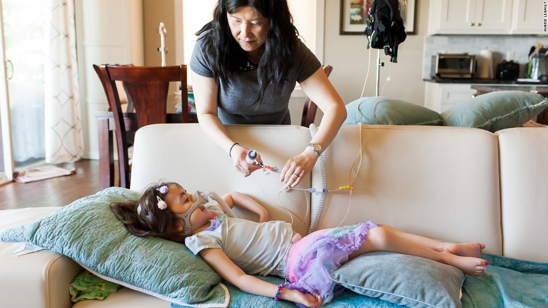 Em estado terminal, menina de 5 anos prefere ir para o céu em vez do hospital 12