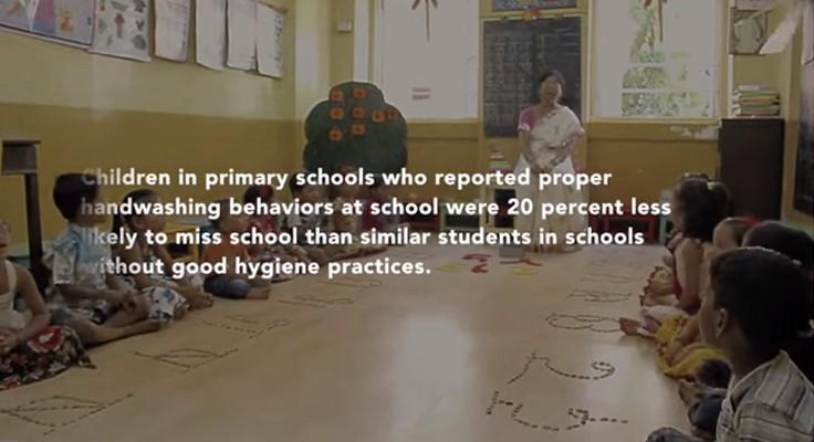 Sabonete em forma de caneta previne diarreia em escolas 3