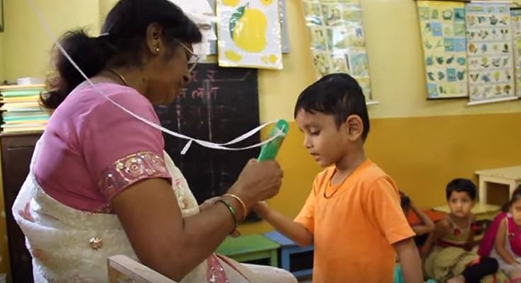 Sabonete em forma de caneta previne diarreia em escolas 5