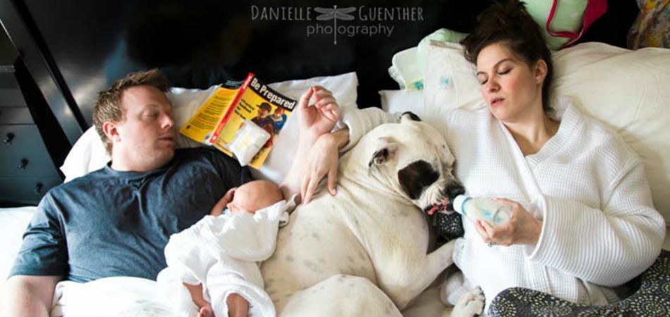 18 fotos realistas de família que nos lembram que a paternidade não é perfeita