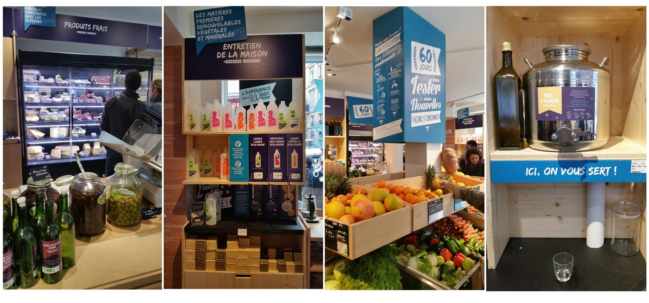 supermercado sem embalagens de Paris 3