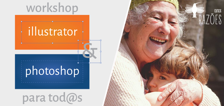Aprenda Photoshop e Illustrator e ainda ajude uma casa de idosos em SP 1