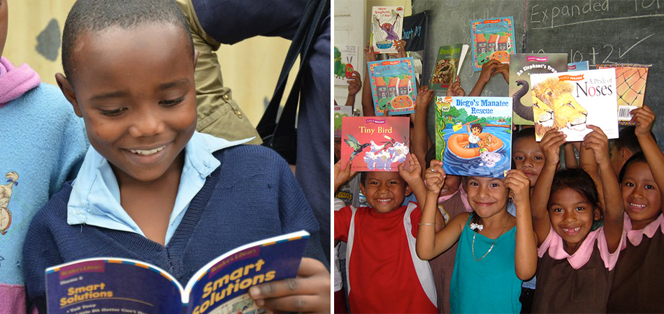 comprar livros ajuda crianças carentes