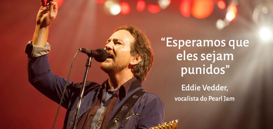 Pearl Jam faz show em BH e doa cachê para vítimas do desastre em Mariana 1