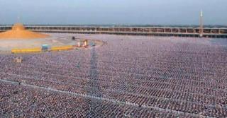 Um milhão de crianças meditam e cantam pela paz