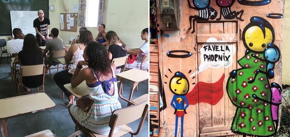 Britânico abre escola de inglês gratuita para moradores da Rocinha/RJ 3