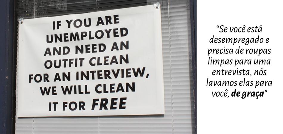 Lavanderia se disponibiliza a lavar de graça roupas de pessoas desempregadas 1