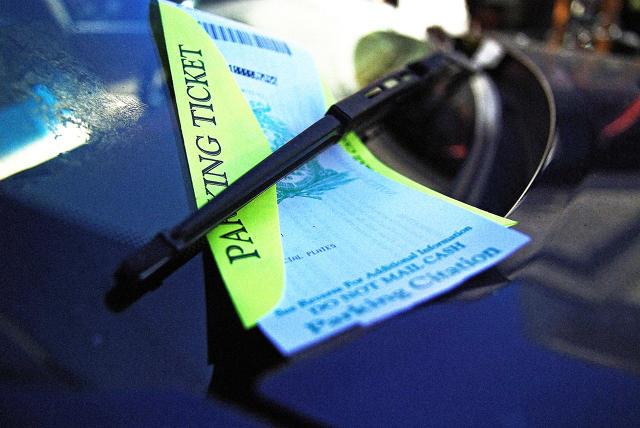 multa de estacionamento