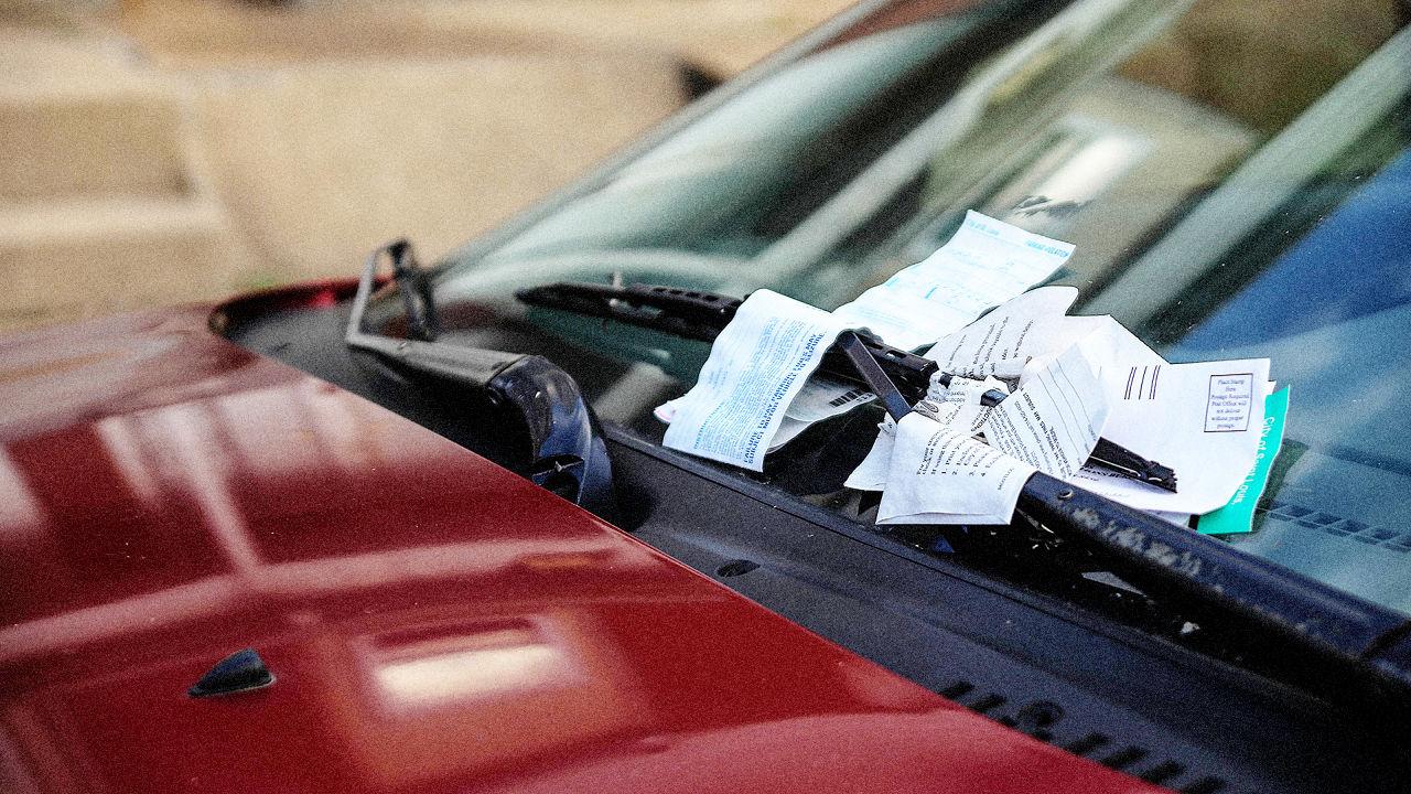 multas de estacionamento