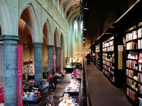 Com grande número de ateus, Holanda torna igrejas em livrarias e cafés