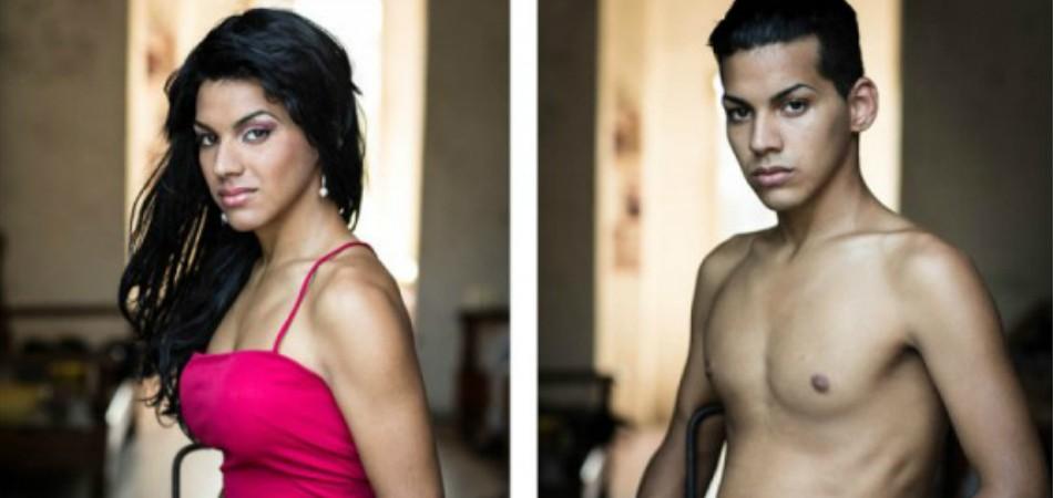 Fotógrafa capta antes e depois de transexuais em Cuba 3