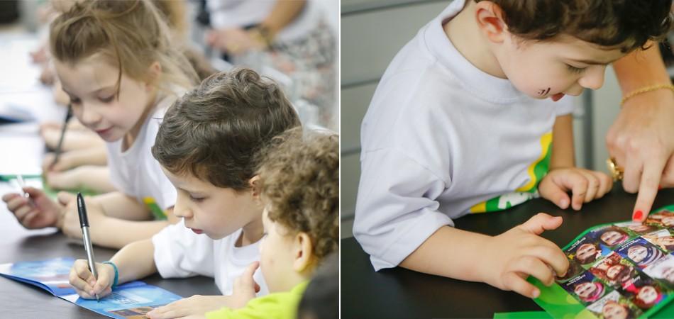 Crianças não alfabetizadas de escola em Porto Alegre criam suas próprias histórias 1