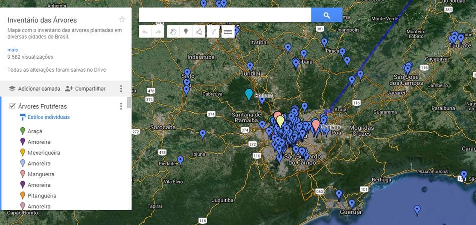 Sabia que dá pra saber onde tem árvores frutíferas em São Paulo? 4