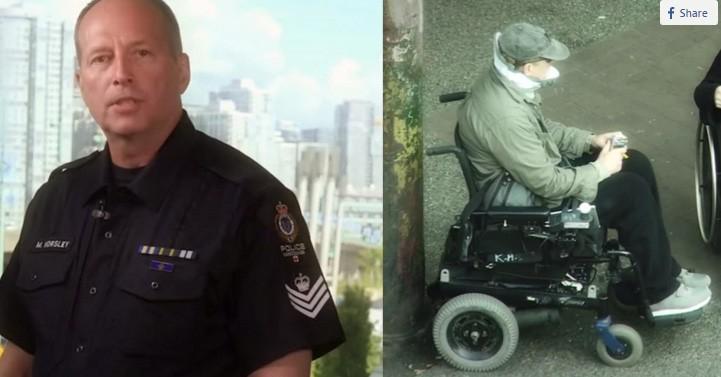 Policial se disfarça para capturar assaltantes de cadeirantes e tem uma grata surpresa 1