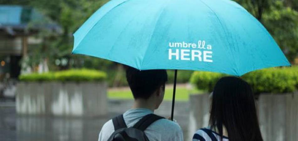 App permite oferecer carona debaixo de guarda-chuva 1
