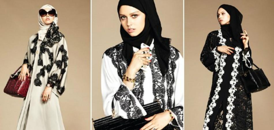 Dolce & Gabanna cria coleção de hijabs e abayas 1