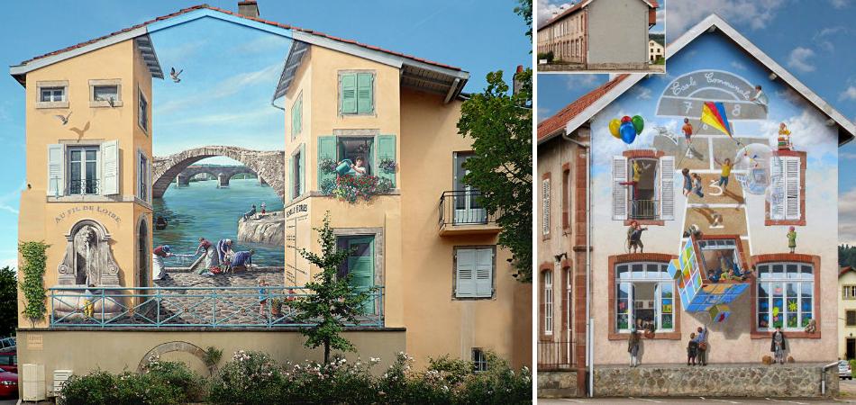 Artista transforma cenário urbano com intervenções hiperrealistas 9