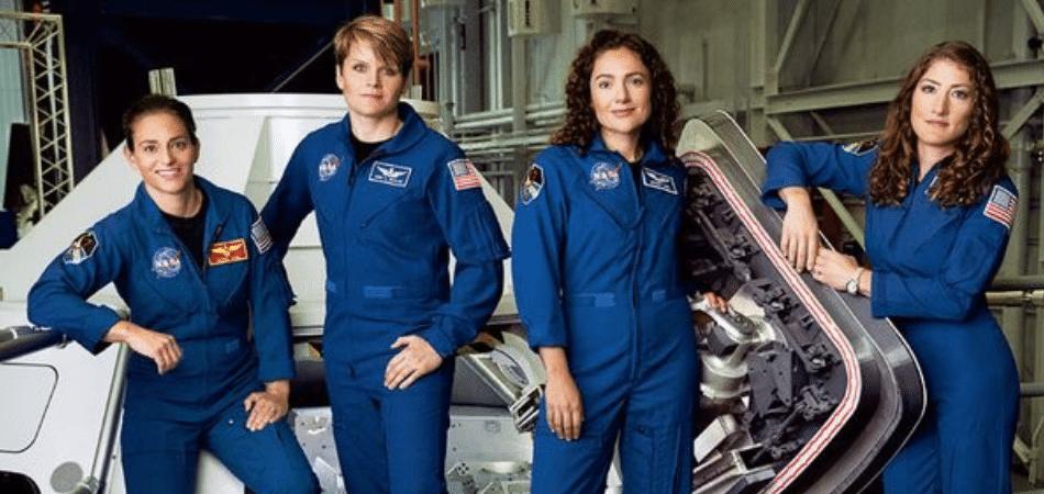 Pela primeira vez na história, mulheres são metade da equipe de astrounautas da NASA 1