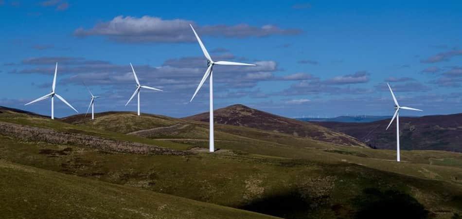 Escócia energia eólica