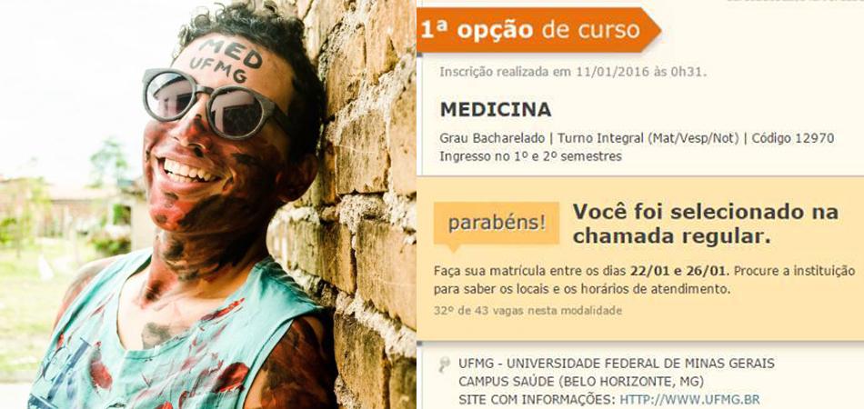 Estudante de escola pública do interior da Bahia é aprovado em medicina na UFMG 3