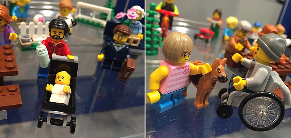 Lego lança seu primeiro boneco em uma cadeira de rodas e celebra a diversidade 1