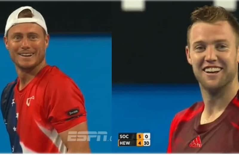 Exemplo: tenista dá aula de honestidade em partida profissional 1