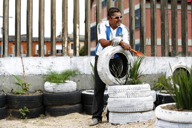 Aposentado transforma terreno baldio em área de lazer para sua comunidade 2