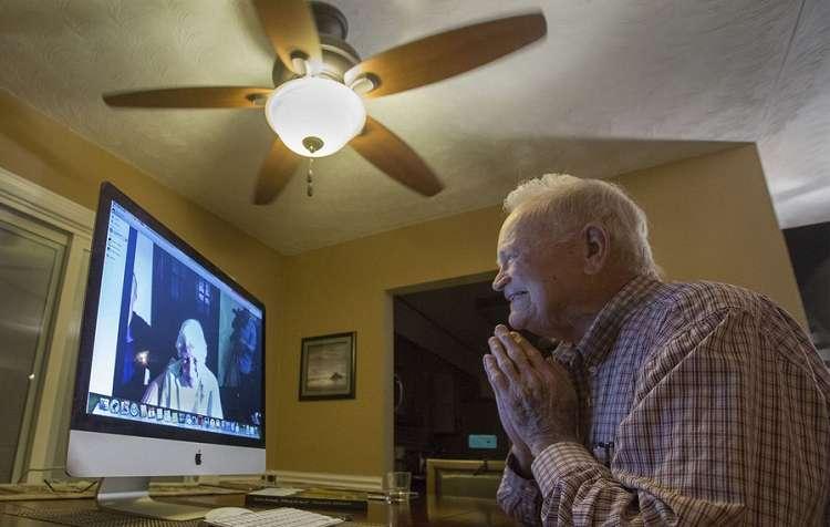 Casal separado na Segunda Guerra Mundial se reencontra após 70 anos 2