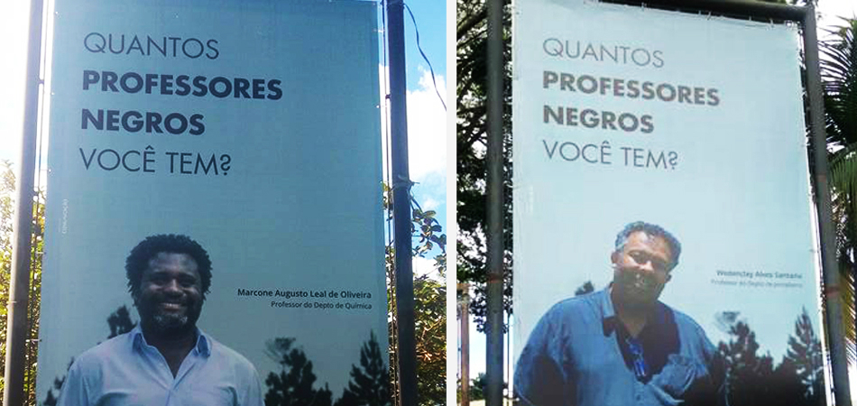 Campanha questiona baixíssima presença de professores negros nas universidades brasileiras 1
