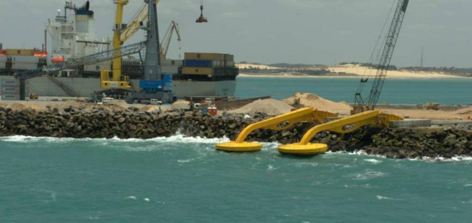 Ceará recebe usina que gera energia elétrica através das ondas do mar 1