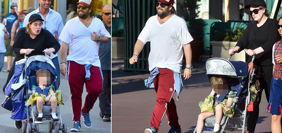 Adele passeia com filho na Disney vestido de princesa e mostra, de novo, que não tem preconceito de gênero 1