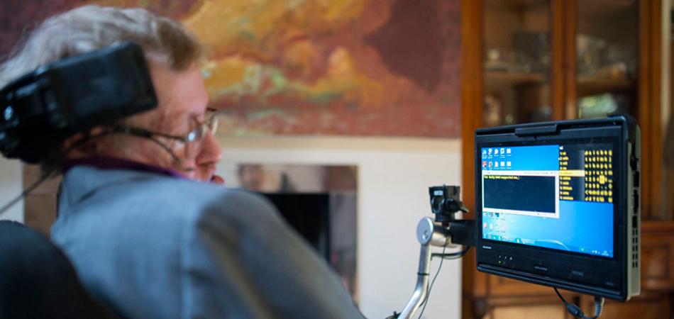 Software usado por Stephen Hawking para falar está disponível de graça 3