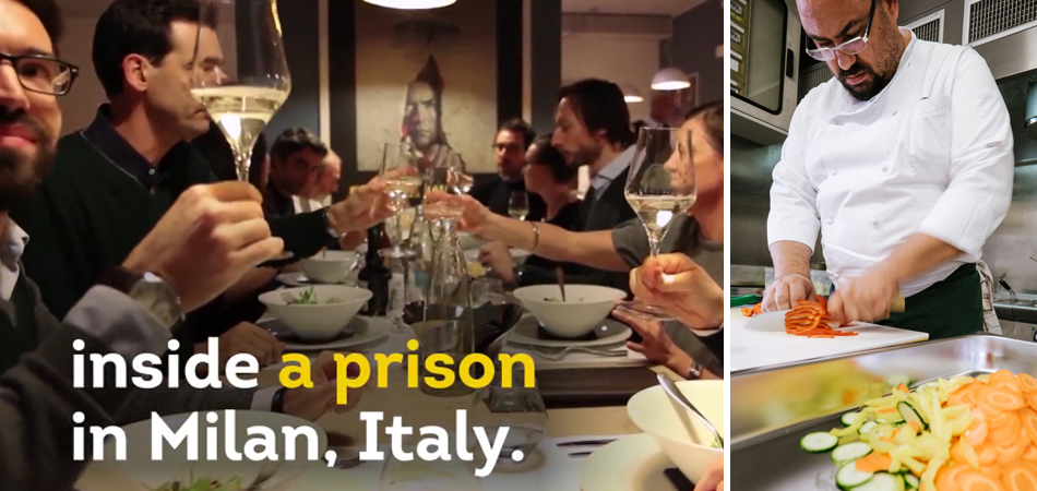Primeiro restaurante dentro de prisão gerenciado por detentos é inaugurado na Itália 1