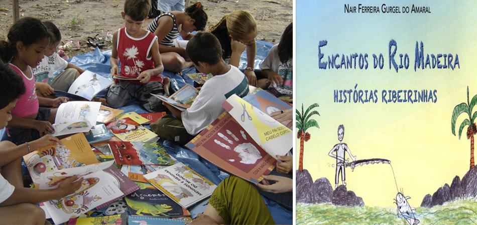 Crianças ribeirinhas de Rondônia lançam livro com histórias locais 1