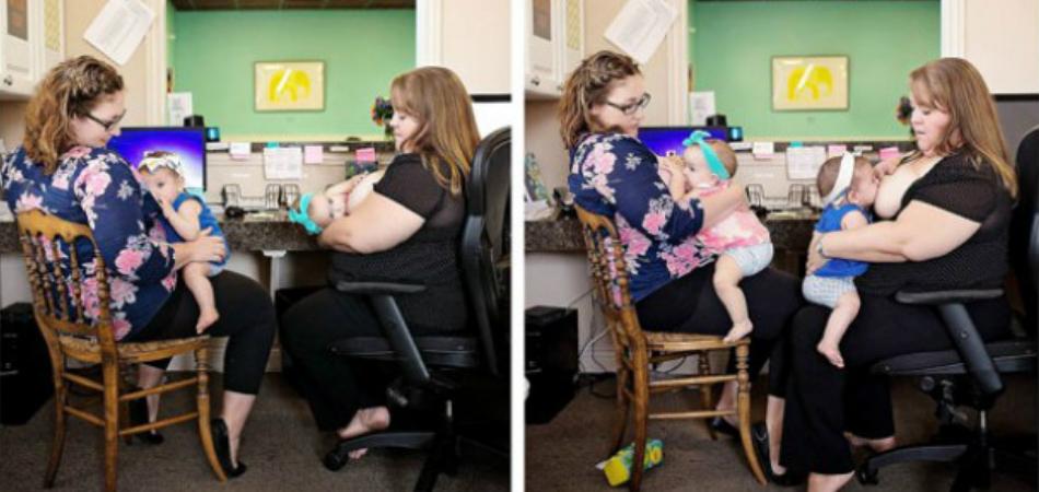 Quebrando tabu: Este grupo de mães amamentam os bebês umas das outras 2
