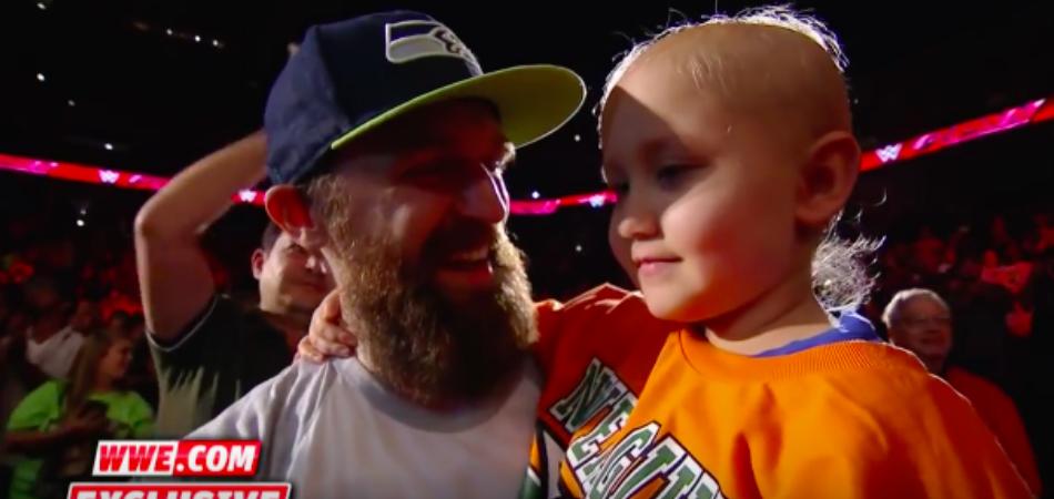 Neste ringue, a grande vencedora da noite foi uma menininha de 7 anos contra o câncer 2
