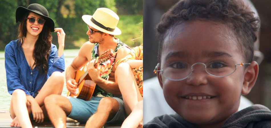 A cada venda dessa marca de óculos, outro é doado para quem precisa 4